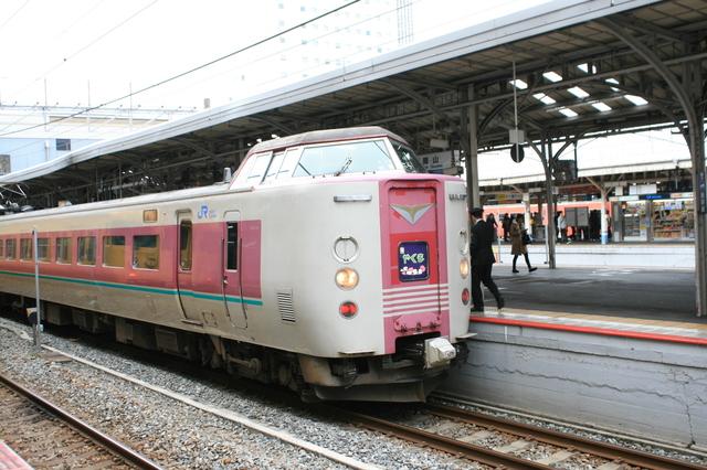 IMG_岡山駅~出雲市駅間を結ぶJR西日本(西日本旅客鉄道)の特急やくも号(381系電車)