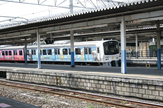 JR鹿児島本線の快速列車荒尾行.JPG