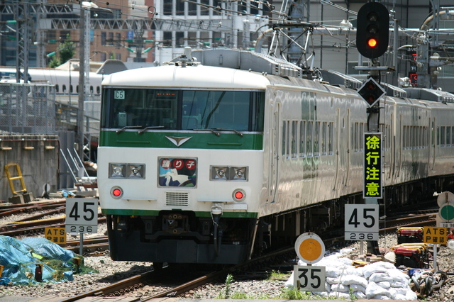 IMG_東京と伊豆半島をむすぶJR東日本の185系「特急踊り子号」(185系電車)