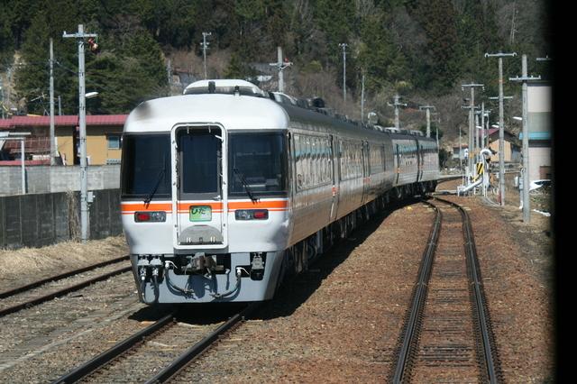IMG_JR東海の85系「特急ワイドビューひだ号」JR高山本線