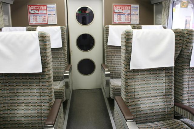 IMG_5742号車の半室に設けられた特急ワイドビュー南紀のグリーン車座席 1.JPG