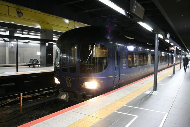 IMG_57特急たんごリレー号にも使われる京都丹後鉄道(WILLER TRAINS)の「丹後の海車両」71.JPG