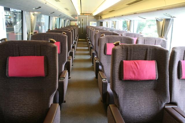 IMG_JR西日本289系特急 グリーン車の座席