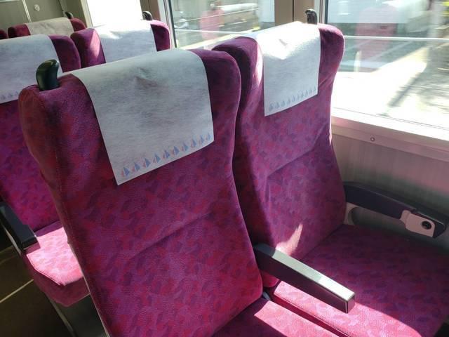グリーン車(平屋席)の座席.jpg