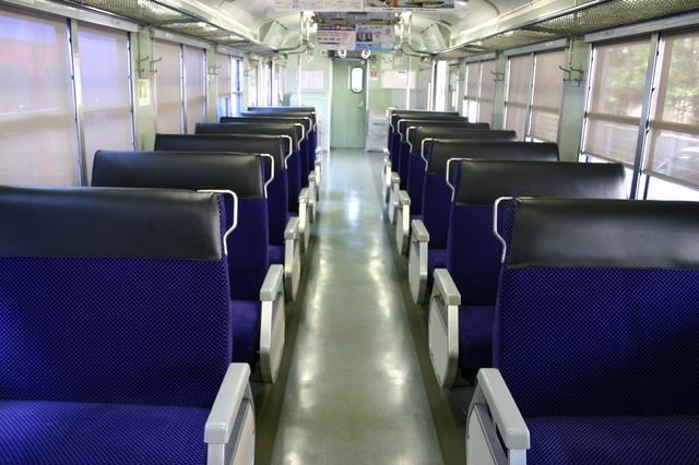 8月一人旅(長崎夜景、島原鉄道3) 快速シーサイドライナー座席032.jpg