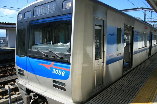 IMG_13成田空港と羽田空港を1時間45分ほどで乗り換えなしに結ぶ「アクセス特急」(京成電鉄3050形電車)33.JPG