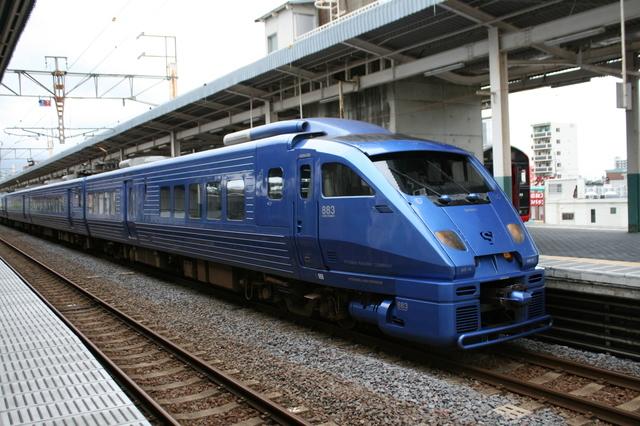 IMG_33「青いソニック」ことJR九州の特急ソニック883系車両52.JPG