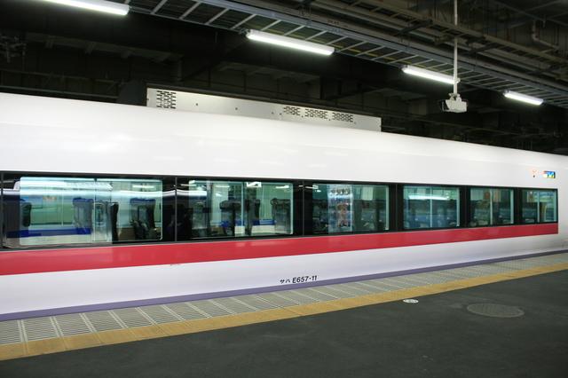 IMG_7100品川駅に停車するJR特急ときわ号 特急ときわ ひたち.JPG