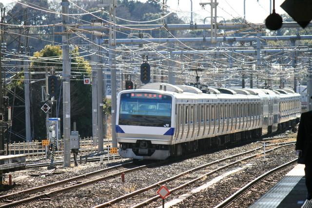 IMG_グリーン車を連結している、JR常磐線の特別快速(特快)