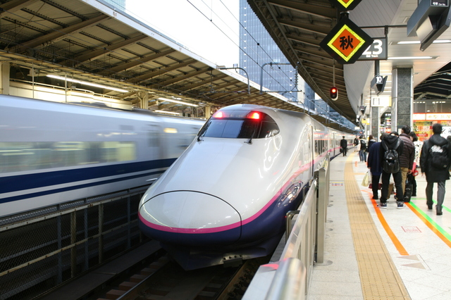 IMG_JR東北新幹線「やまびこ号」(E2系電車)