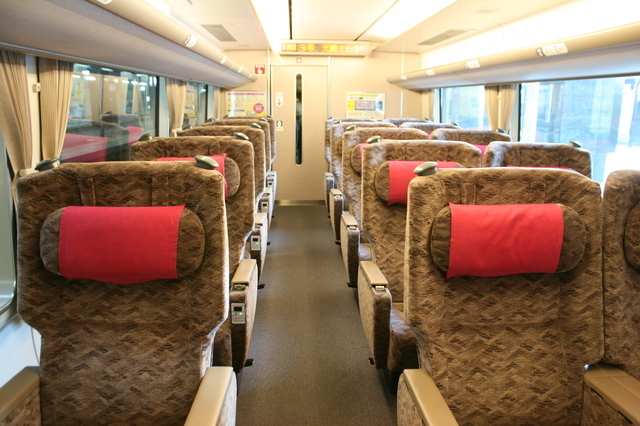 IMG_8831号車の半室に設けられている特急きのさき号(287系)グリーン車0.JPG